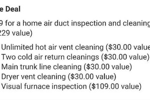 Photo #1: Professional Duct Cleaners LLC.