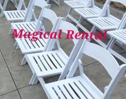 Photo #8: Magical Rental - White Wedding Chair Rental