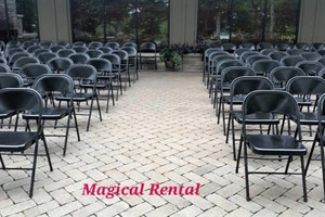 Photo #6: Magical Rental - White Wedding Chair Rental