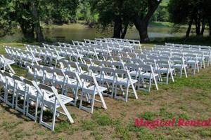Photo #2: Magical Rental - White Wedding Chair Rental