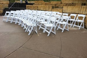 Photo #1: Magical Rental - White Wedding Chair Rental
