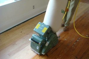 Photo #1: If You Need Your HARDWOOD FLOORS SANDED This Week CALL ME!
