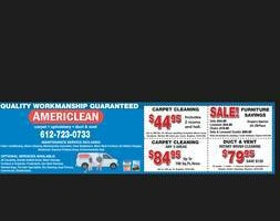 Photo #1: CARPETS STEAM CLEANED! 500 Sq ft only 49.95 by Americlean