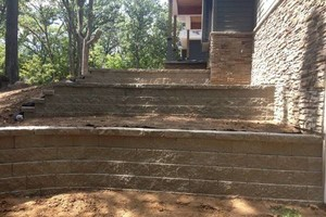 Photo #3: Paver patio's & retaining wall's