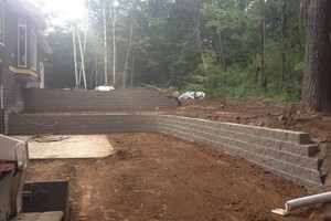 Photo #1: Paver patio's & retaining wall's