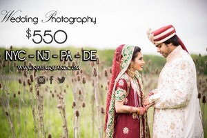 Photo #1: MUSLIM & DESI WEDDING PHOTOGRAPHY - $550 - BOOK