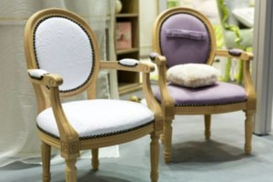 Photo #1: FINE UPHOLSTERY - current decor/design to fit