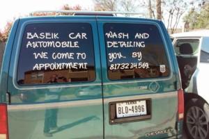 Photo #1: MOBILE CAR WASH & DETAILING.