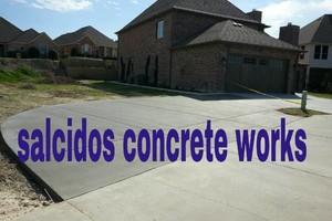 Photo #1: AFFORDABLE SALCIDOS CONCRETE WORKS. Free estimates
