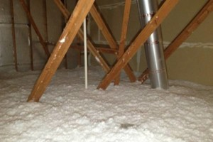 Photo #1: ATTIC INSULATION- SOLAR VENTILATION- FOAM