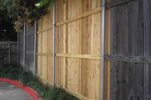Photo #1: FENCE REPAIR (storm or high winds) -replace pickets and repair