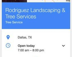 Photo #1: Rodriguez landscaping & Tree Services (ALL OVER DALLAS )