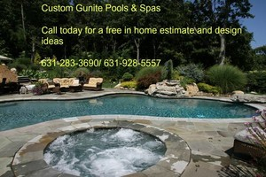Photo #1: Gunite Pool Builder 60 Years of building inground pools