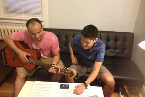 Photo #1: Guitar Lessons in Your Home, Free Trial