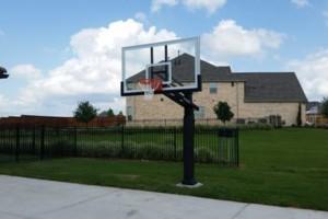 Photo #1: Basketball Goal Assembly