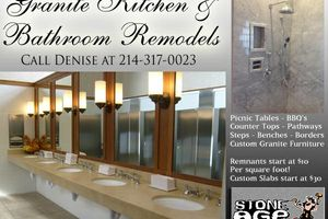 Photo #1: GRANITE KITCHEN AND BATHROOM REMODELING