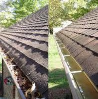 Photo #2: WINDOW AND GUTTER CLEANING , DECK STAIN