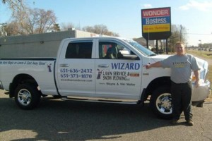 Photo #5: Wizard Lawn Service and Snow Plowing. Lawn Care /  Mowing / Maintenance