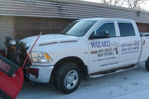 Photo #1: Wizard Lawn Service and Snow Plowing. Lawn Care /  Mowing / Maintenance