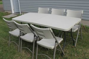 Photo #1: TABLE & CHAIRS for RENT
