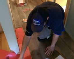Photo #11: Vinyl, Hardwood & Laminate Flooring Installer!