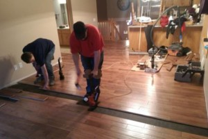 Photo #5: Vinyl, Hardwood & Laminate Flooring Installer!