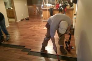 Photo #4: Vinyl, Hardwood & Laminate Flooring Installer!