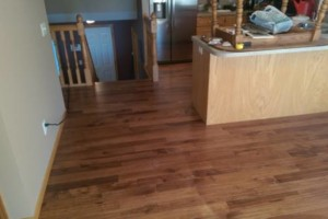 Photo #2: Vinyl, Hardwood & Laminate Flooring Installer!
