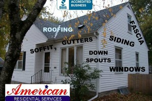 Photo #3: HIGH QUALITY ROOFING SIDING SOFFIT FASCIA & GUTTERS (AMERICAN RESIDENTIAL SERVICES Inc.)
