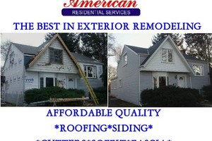 Photo #1: HIGH QUALITY ROOFING SIDING SOFFIT FASCIA & GUTTERS (AMERICAN RESIDENTIAL SERVICES Inc.)