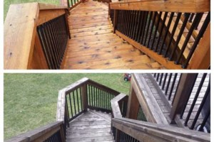 Photo #5: Deck and Fence clean / seal / stain! Call for a free bid today