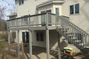 Photo #2: Deck and Fence clean / seal / stain! Call for a free bid today