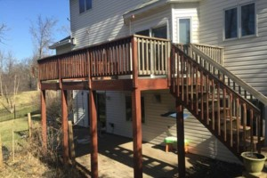 Photo #1: Deck and Fence clean / seal / stain! Call for a free bid today