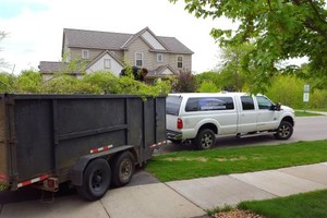 Photo #12: Spring clean ups, junk removal.. Book NOW!