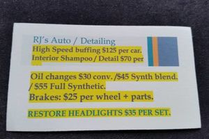 Photo #1: Auto Detailing and Mechanical - shampooing, leather conditioning...