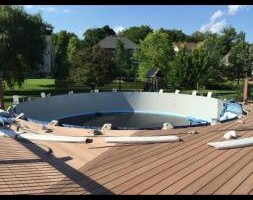 Photo #4: Above & in ground pool liners replacement