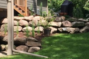 Photo #4: Boulders Landscaping Inc. Boulder Retaining Walls / Outcroppings