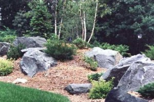 Photo #2: Boulders Landscaping Inc. Boulder Retaining Walls / Outcroppings