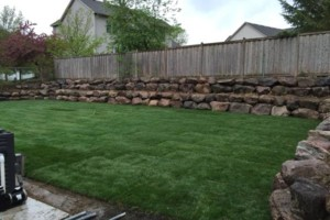 Photo #1: Boulders Landscaping Inc. Boulder Retaining Walls / Outcroppings