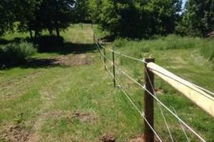 Photo #12: Custom Fencing (farm, boundary fencing)