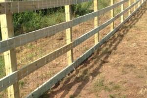 Photo #6: Custom Fencing (farm, boundary fencing)