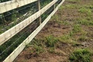 Photo #5: Custom Fencing (farm, boundary fencing)