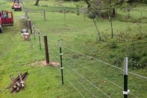 Photo #2: Custom Fencing (farm, boundary fencing)