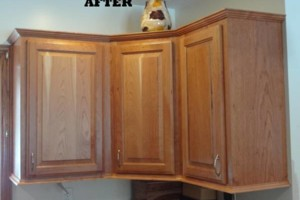 Photo #2: Dan Holt - Cabinet Refacing