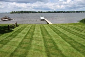 Photo #4: MOENS MOWING & LANDSCAPING. Spring Clean-up Special!