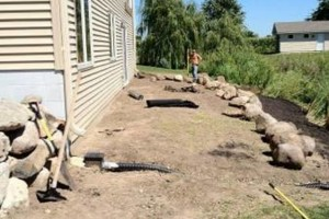 Photo #3: MOENS MOWING & LANDSCAPING. Spring Clean-up Special!