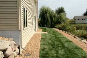 Photo #2: MOENS MOWING & LANDSCAPING. Spring Clean-up Special!