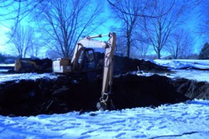 Photo #6: Excavating/Draintile/Ditch Cleaning