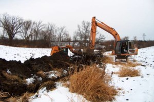 Photo #3: Excavating/Draintile/Ditch Cleaning