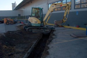 Photo #1: Excavating/Draintile/Ditch Cleaning